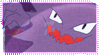 Pokemon Haunter Stamp by Captain-Chompers