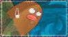 Pokemon Diglet Stamp