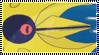 Pokemon Lunatone Stamp