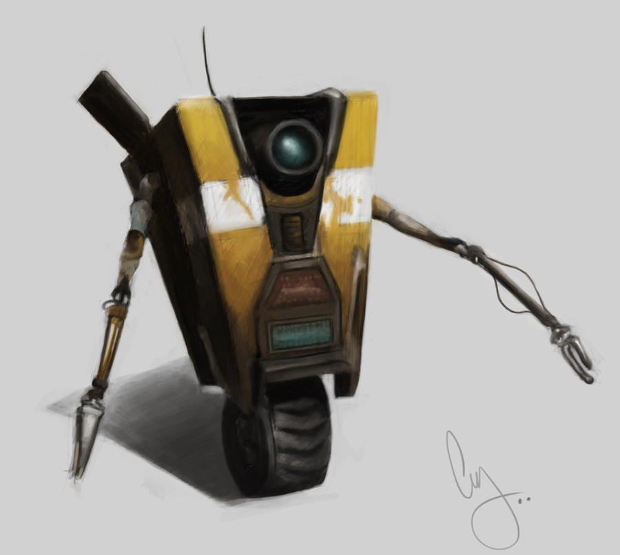 Borderlands - Claptrap by Pungyeon