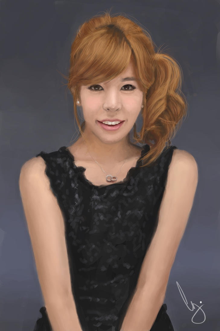 Sunny From Snsd By Pungyeon On Deviantart