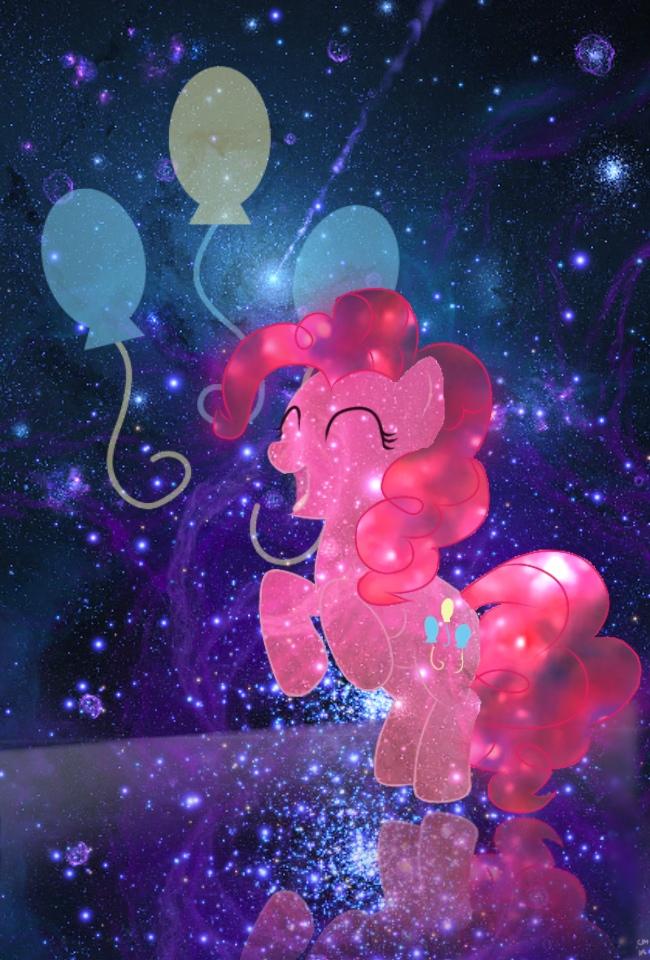 Pinkie Pie IPhone Wallpaper Galaxy By Dertaii