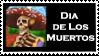 Day of Dead Fan Stamp by alienhunny