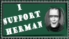 Herman Stamp by alienhunny