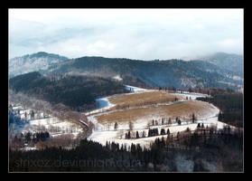Winter Landscape by StrixCZ