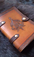 Assassin's creed leather grimoire