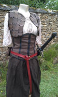 Tenue combat tamara conan leather outfit