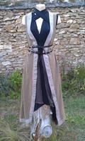LARP alchimist mage witch outfit - tenue GN tissu