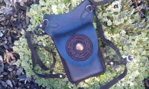 Utility belt bag - Emport de cuisse oeil de tigre