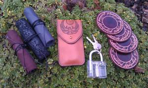 Balmora missives lockpicking kit coasters