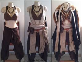 Layering LARP outfit Amazon costume