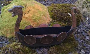 leather drakkar viking