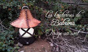 Lanterne tirage au sort - lottery draw lantern