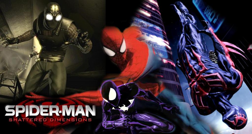 Spider Man Shattered Dimensions 4k Hd Desktop Wallpaper: Spiderman Shattered Dimensions Wallpaper 1 By Blades0100