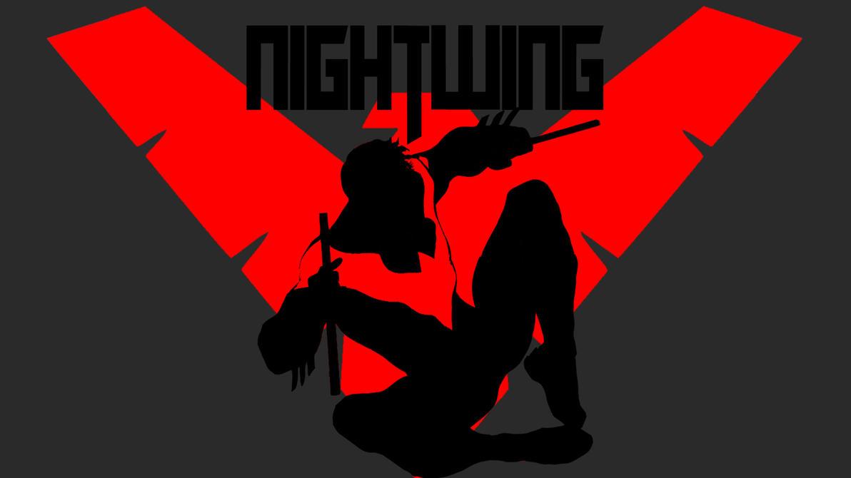 nightwing red logo wallpaper - photo #4