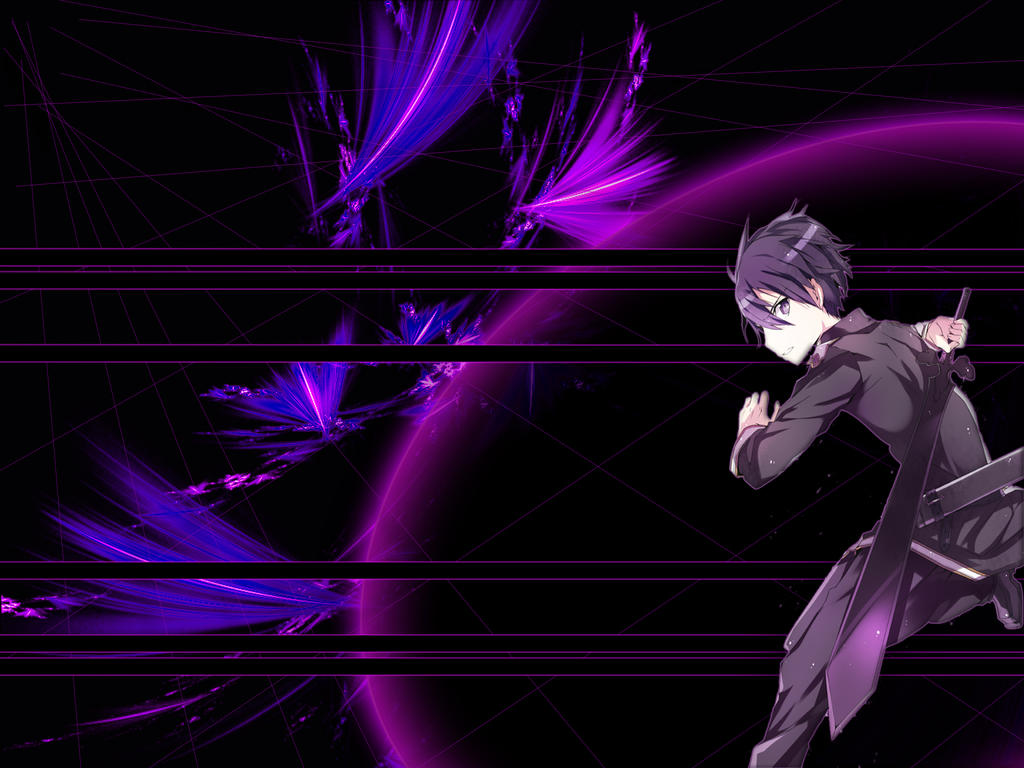 Kirito sword art online WALLPAPER by lobokamikaze111 on ...