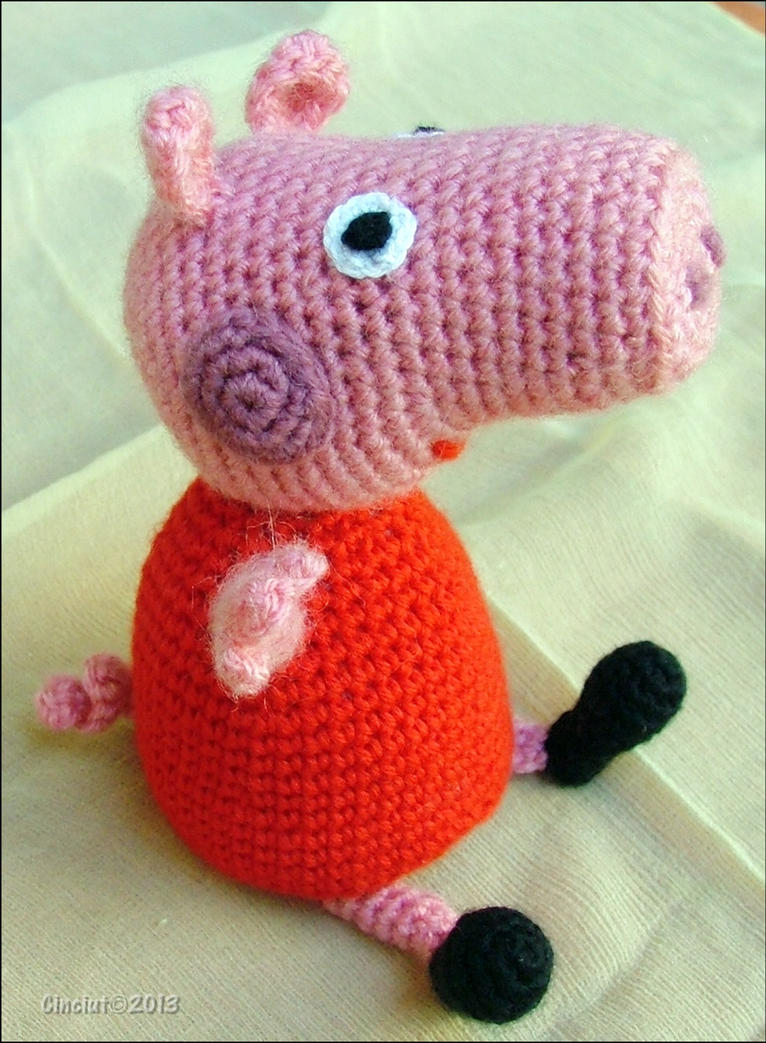 Free Crochet Pattern For Peppa Pig apexwallpapers.com