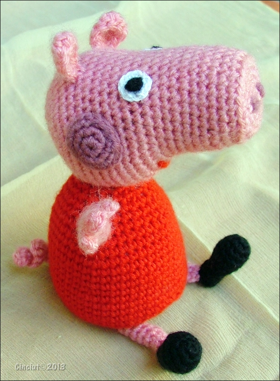 Amigurumi Tutorial Peppa Pig : Peppa pig amigurumi by cinciut on deviantart