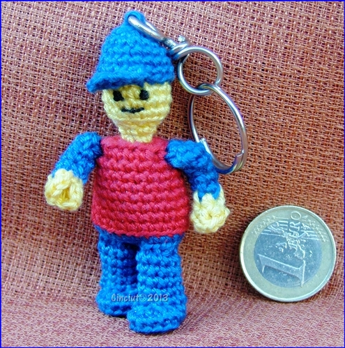 Amigurumi Lego Man : Amigurumi Lego Man by Cinciut on deviantART
