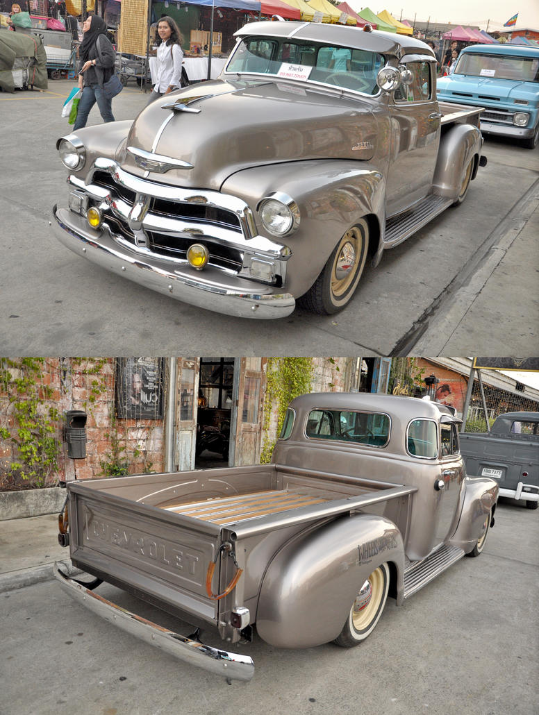 Old Chevy truck 1 by zynos958 on DeviantArt