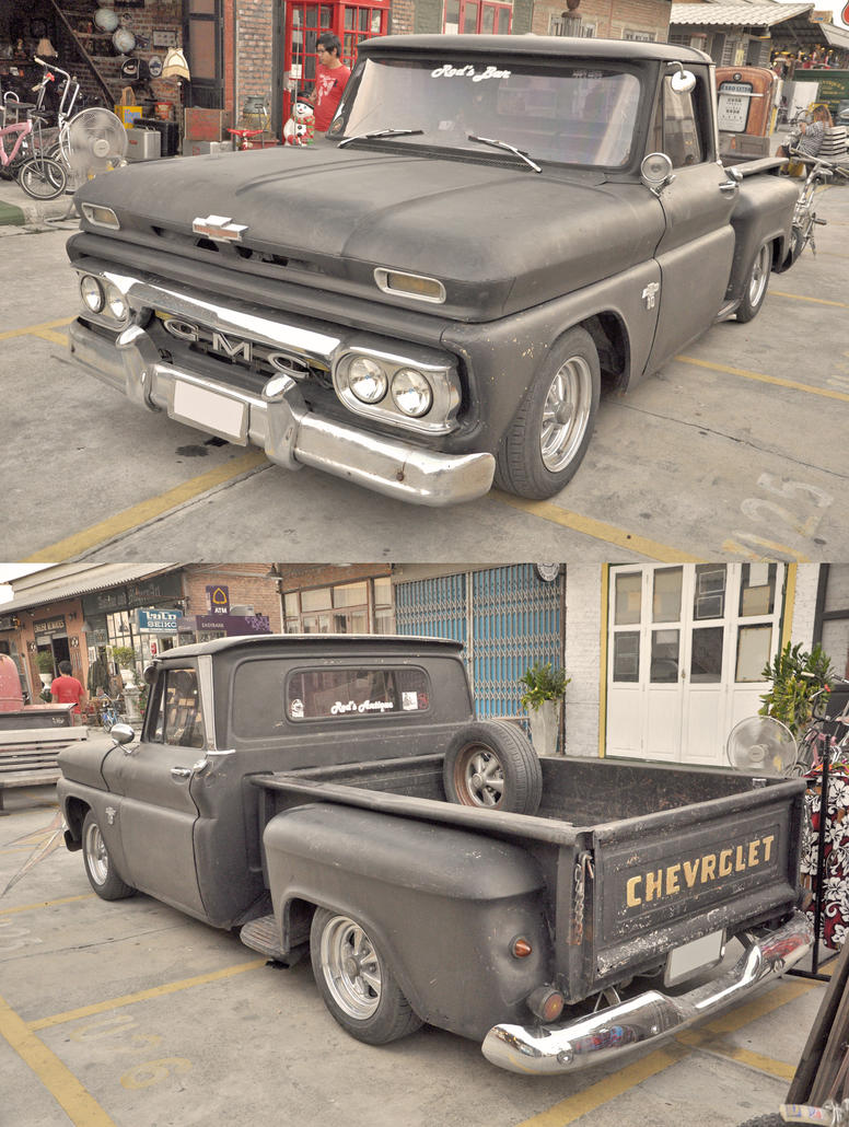 Old Chevy truck 3 by zynos958 on DeviantArt