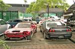 Abandoned 90's Japanese Sportscar icons