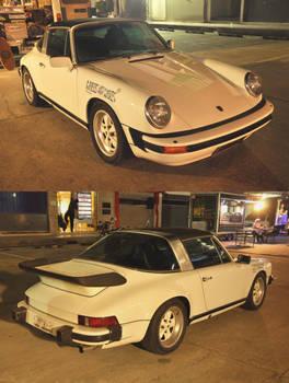 White Classic 911 Targa