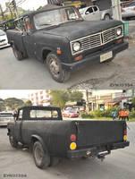 Large rare American pickup
