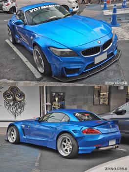 Blue Z4 Stance