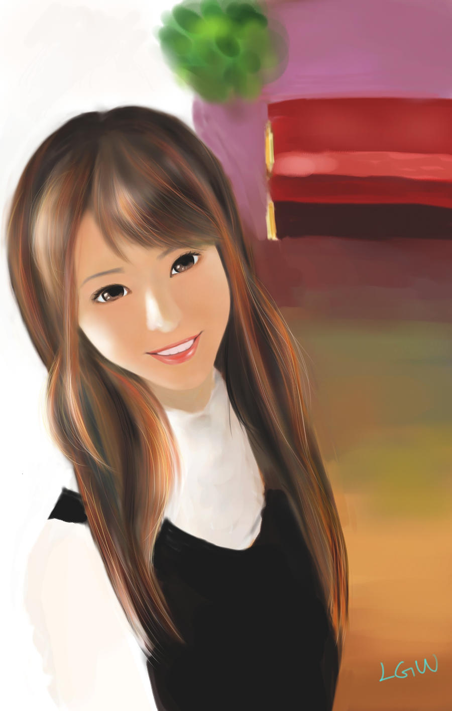 simple beauty by lvguowei