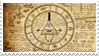 Gravity Falls Bill Cipher Stamp by futureprodigy24