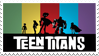 Teen Titans Stamp by futureprodigy24