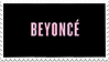 Beyonce Album Cover Stamp by futureprodigy24