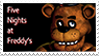 Five Nights At Freddy's Stamp by futureprodigy24