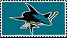 San Jose Sharks Stamp by futureprodigy24