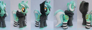 Lyra with removable hoodie and socks (sold)