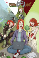 many faces of felicia day by gorrin
