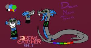 Neon Toxin Reference [DREAMCATCHER OCT] by weltschmerz-drachen
