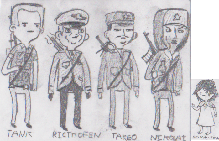 Call Of Duty Zombies Characters Waw And Bo S By Acenos On Deviantart