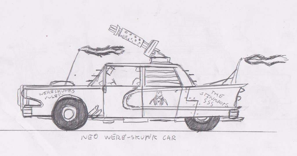 wereskunk faction car by acenos on deviantart