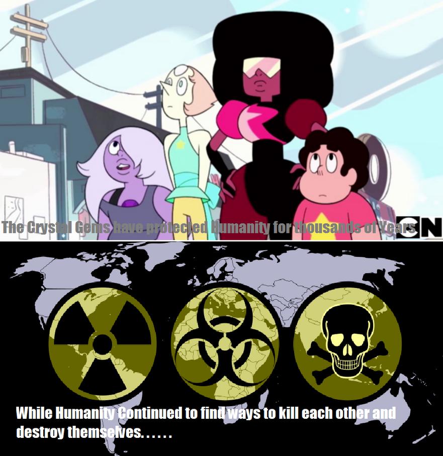 Snap Steven Universe Some Rose Quartz Theories Be Like Car ...