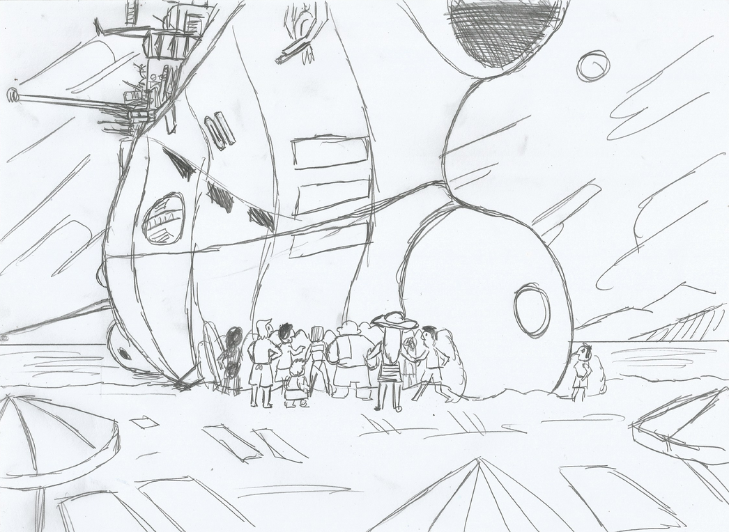 SU2203: Beach Landing by AceNos