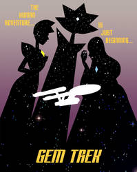 Gem Trek Poster by AceNos