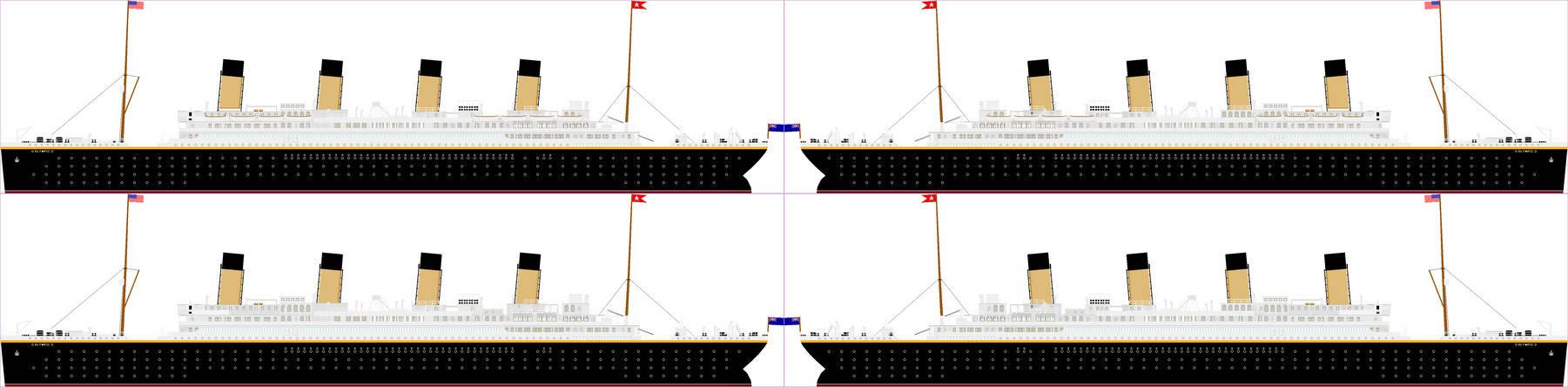 TUGS: RMS Olympic.
