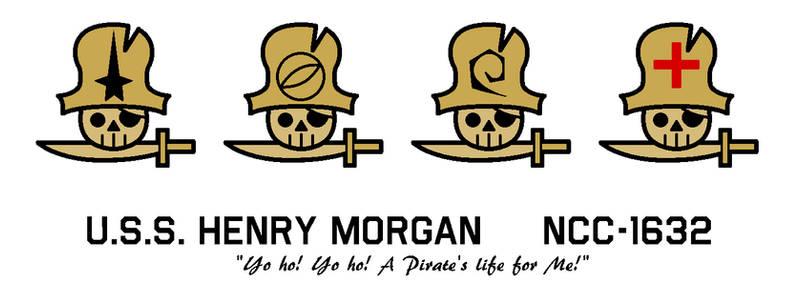 USS Henry Morgan Badges
