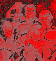 Crimson Hawks by 2barquack