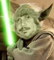 Me as Yoda by 2barquack