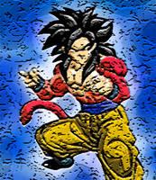 Retro SSJ4 Goku by 2barquack