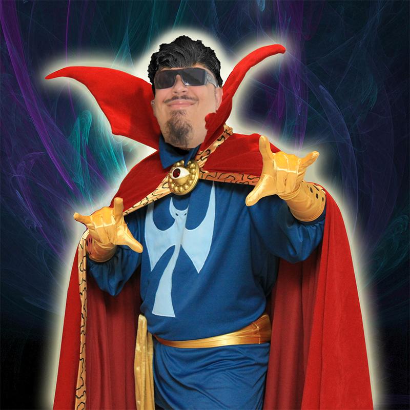 Me as Dr. Strange by 2barquack