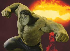 Me as the Hulk
